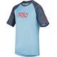 IXS Progressive 8.1 maglietta a maniche corte Bambino grigio/blu